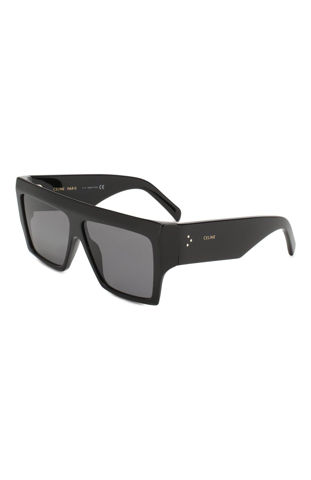 Женские солнцезащитные очки CELINE EYEWEAR черного цвета, арт. CL40092I 01A | Фото 1