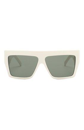 Женские солнцезащитные очки CELINE EYEWEAR белого цвета, арт. CL40092I 21N | Фото 3