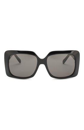Женские солнцезащитные очки CELINE EYEWEAR черного цвета, арт. CL40096I 01A | Фото 3