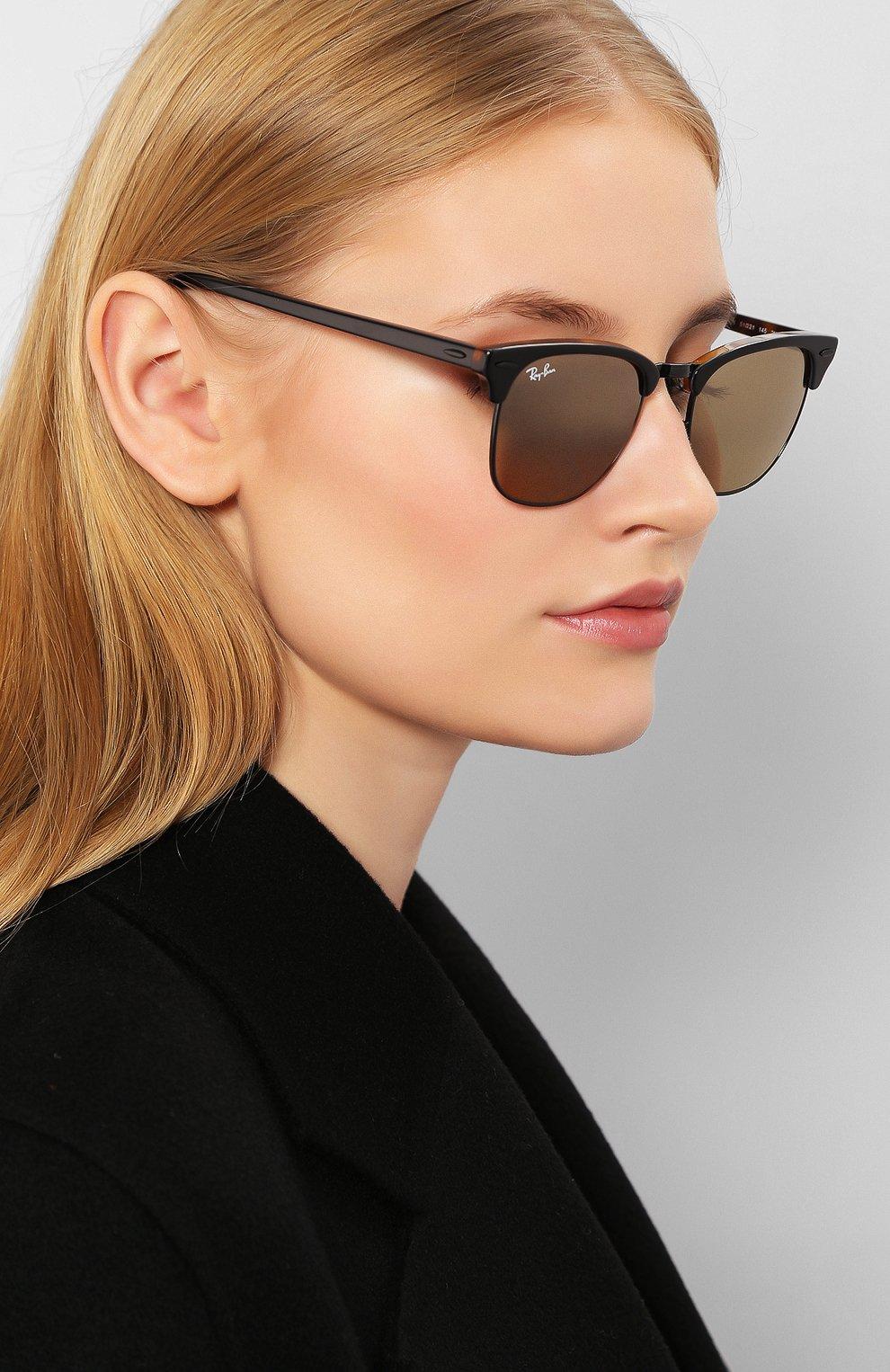 Женские солнцезащитные очки RAY-BAN коричневого цвета, арт. 3016-12773K | Фото 2