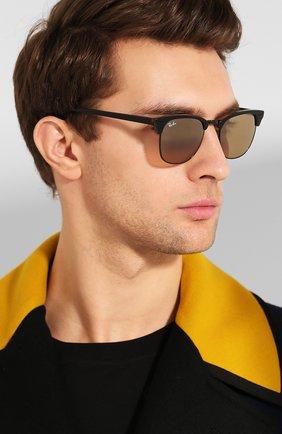Женские солнцезащитные очки RAY-BAN коричневого цвета, арт. 3016-12773K | Фото 3