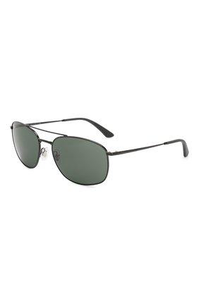 Мужские солнцезащитные очки RAY-BAN черного цвета, арт. 3654-002/71 | Фото 1