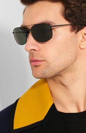 Мужские солнцезащитные очки RAY-BAN черного цвета, арт. 3654-002/71 | Фото 2