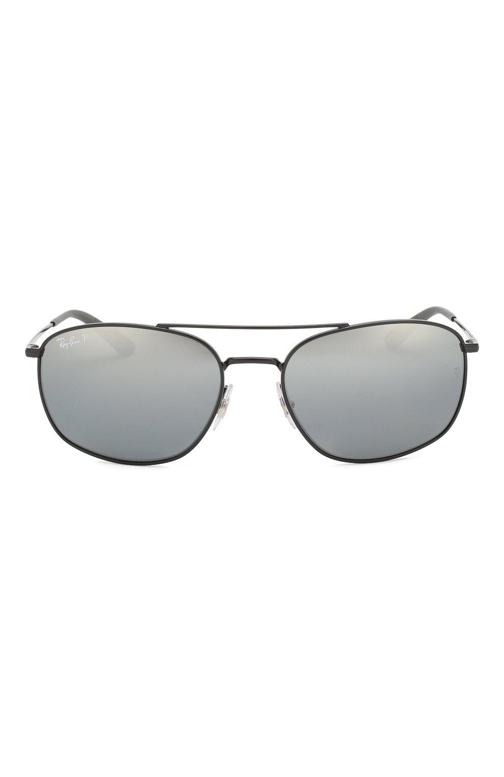 Мужские солнцезащитные очки RAY-BAN черного цвета, арт. 3654-002/82 | Фото 3