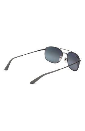 Мужские солнцезащитные очки RAY-BAN черного цвета, арт. 3654-002/82 | Фото 4