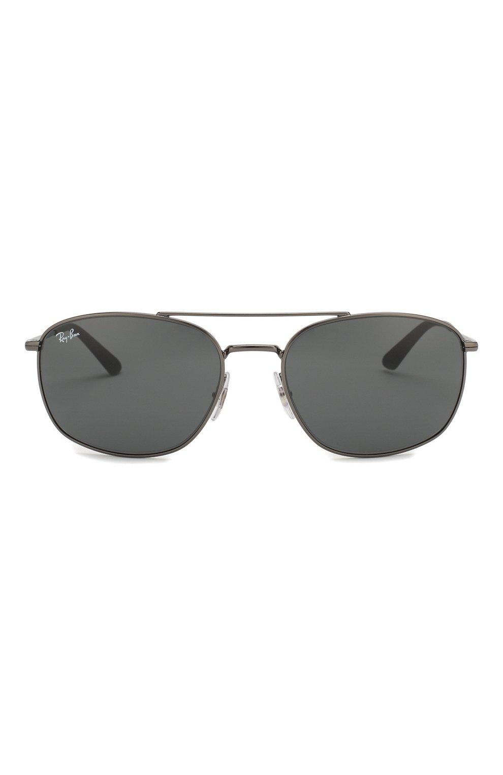 Мужские солнцезащитные очки RAY-BAN темно-серого цвета, арт. 3654-004/87   Фото 3