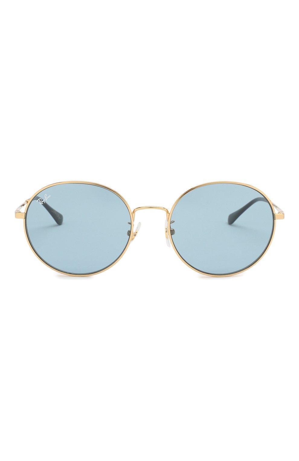 Женские солнцезащитные очки RAY-BAN голубого цвета, арт. 3612-001/80   Фото 4