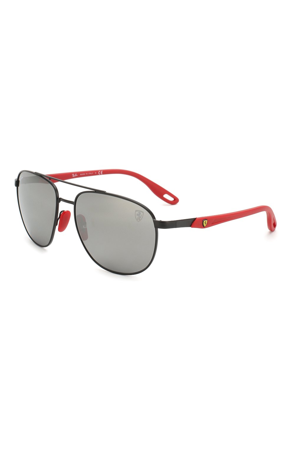 Мужские солнцезащитные очки RAY-BAN черного цвета, арт. 3659M-F0026G   Фото 1