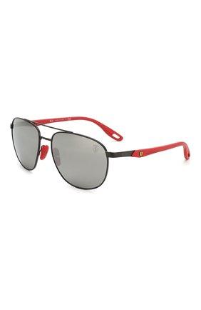 Мужские солнцезащитные очки RAY-BAN черного цвета, арт. 3659M-F0026G | Фото 1
