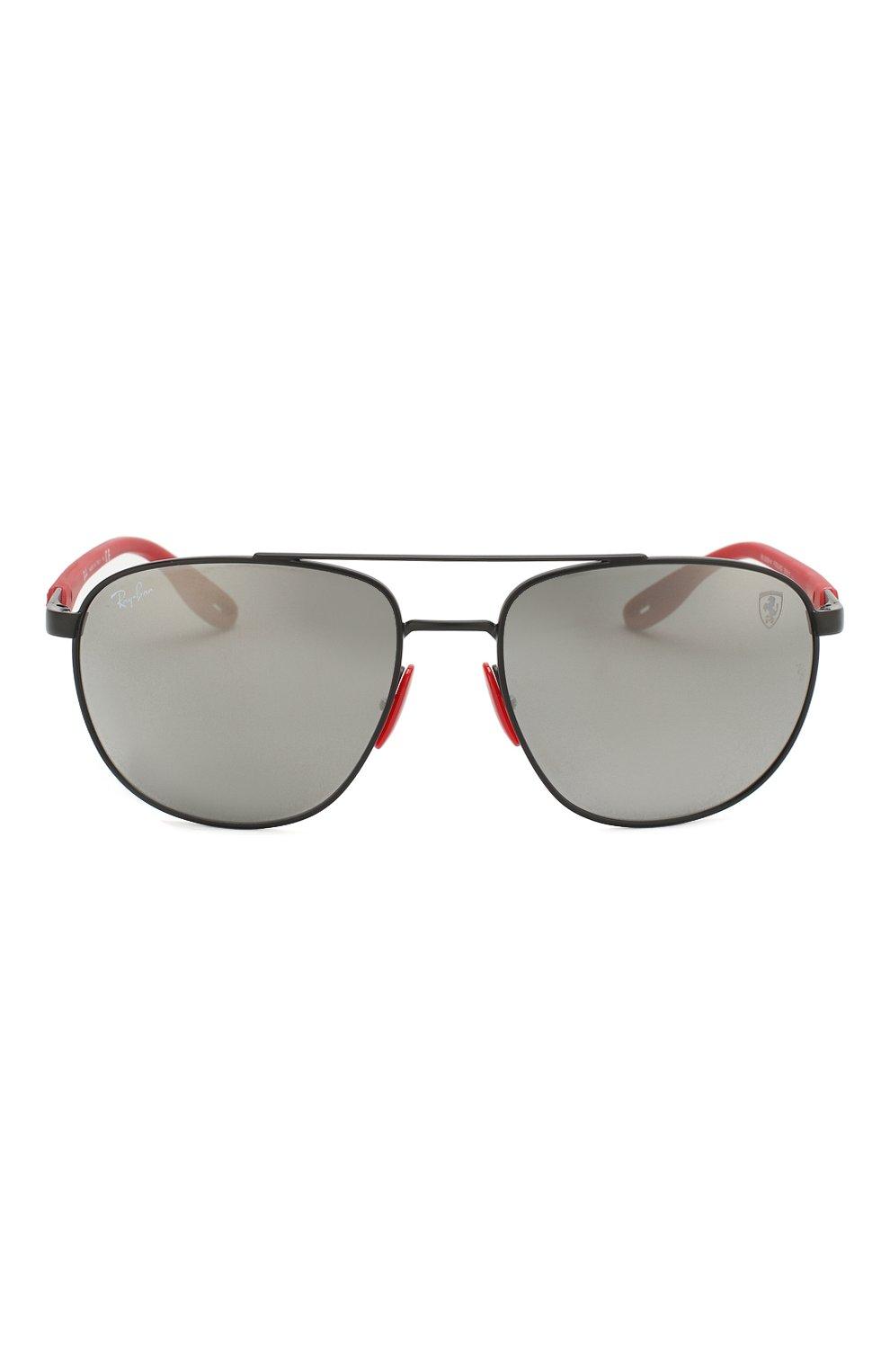 Мужские солнцезащитные очки RAY-BAN черного цвета, арт. 3659M-F0026G   Фото 3