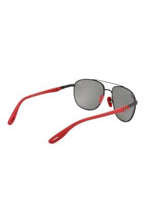 Мужские солнцезащитные очки RAY-BAN черного цвета, арт. 3659M-F0026G   Фото 4