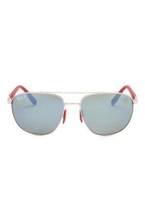 Мужские солнцезащитные очки RAY-BAN серебряного цвета, арт. 3659M-F031H0   Фото 3