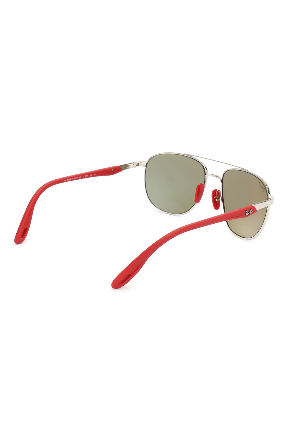 Мужские солнцезащитные очки RAY-BAN серебряного цвета, арт. 3659M-F031H0   Фото 4