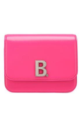 Женская сумка b. small BALENCIAGA фуксия цвета, арт. 592898/1JH2Y | Фото 1