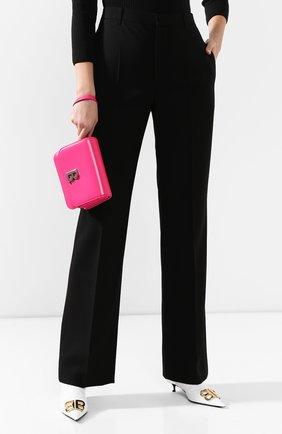 Женская сумка b. small BALENCIAGA фуксия цвета, арт. 592898/1JH2Y | Фото 2