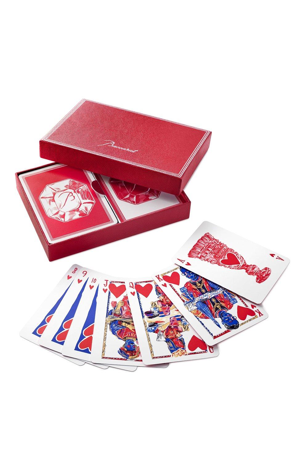 Мужского набор карт для покера jeu BACCARAT разноцветного цвета, арт. 2 813 741   Фото 1