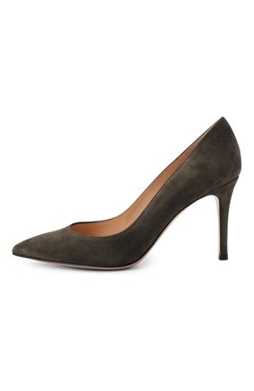 Замшевые туфли Gianvito 85 | Фото №2