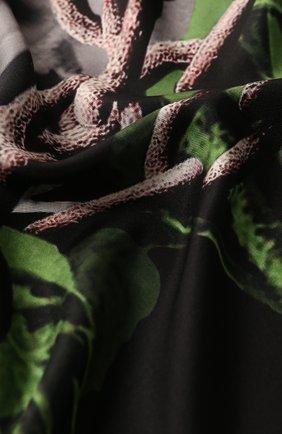 Женский шелковый платок valentino x undercover VALENTINO черного цвета, арт. SW0EI114/ZWB   Фото 2