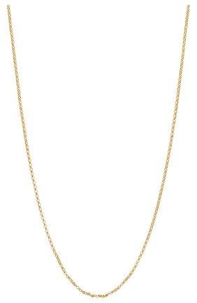 Женское цепь CHLOÉ золотого цвета, арт. CHC19WF002CB79DA | Фото 2