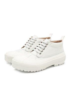 Кожаные ботинки Les Meuniers | Фото №1