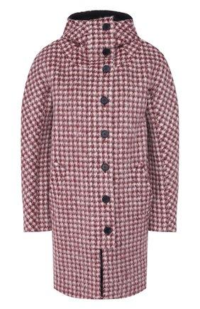 Женское шерстяное пальто CHLOÉ красного цвета, арт. CHC19WMA12071 | Фото 1