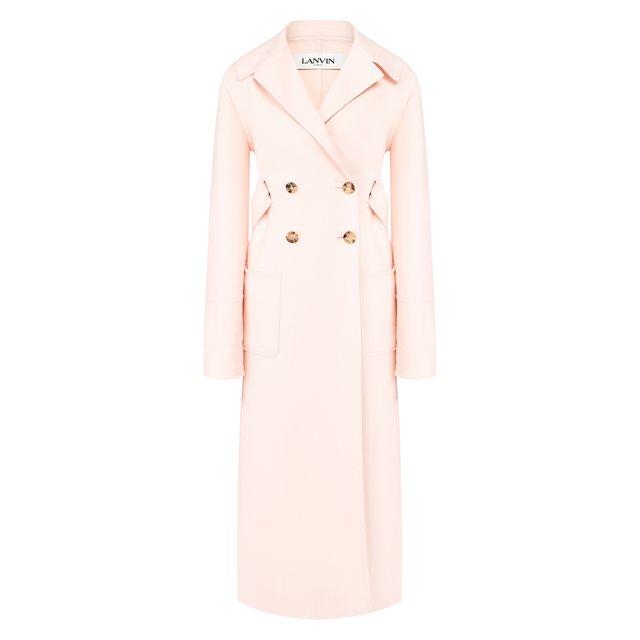 Пальто из шерсти и кашемира Lanvin