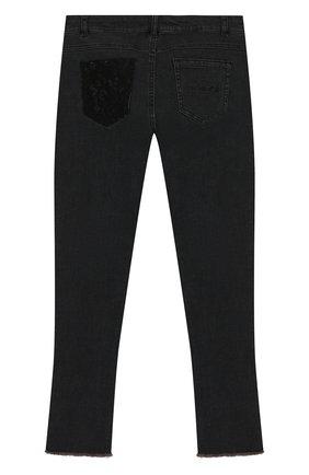 Детские джинсы TWINSET темно-серого цвета, арт. 192GJ2290/12A-16A | Фото 2