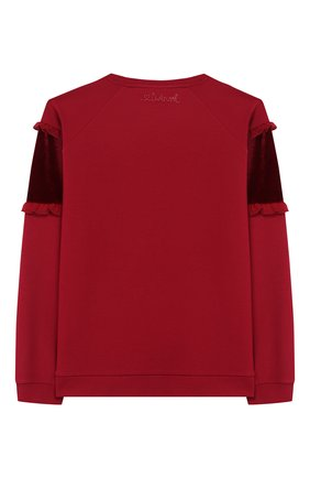 Детский свитшот TWINSET бордового цвета, арт. 192GJ2469/12A-16A | Фото 2
