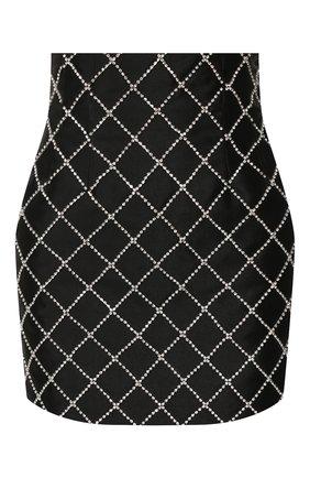 Женская юбка GIUSEPPE DI MORABITO черного цвета, арт. PF19036SK-39-10   Фото 1