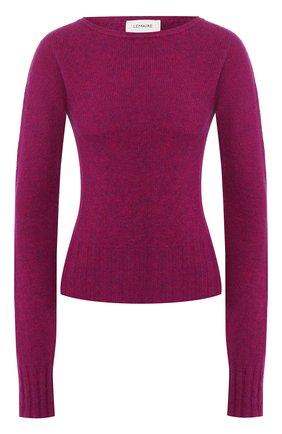Женская шерстяной пуловер LEMAIRE бордового цвета, арт. W 193 KN415 LK085 | Фото 1
