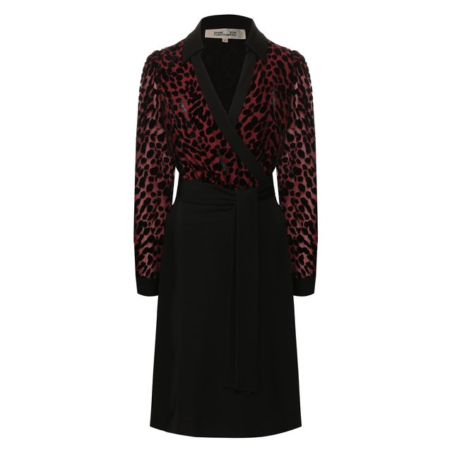 Платье из смеси вискозы и шелка Diane Von Furstenberg
