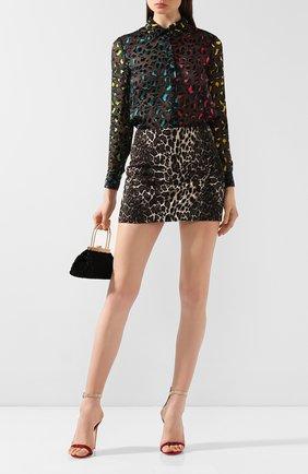 Женская юбка ALICE + OLIVIA леопардового цвета, арт. CC909R16304 | Фото 2