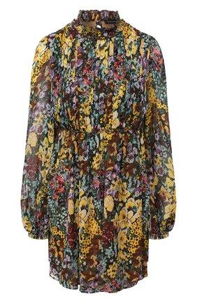 Женское шелковое платье WANDERING разноцветного цвета, арт. WGW19421 | Фото 1