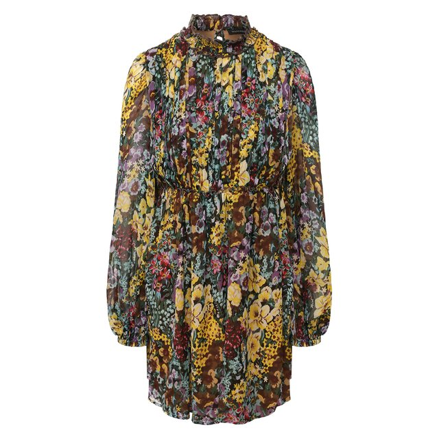 Шелковое платье Wandering