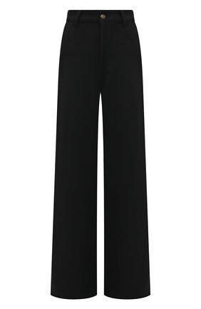 Женские брюки AMI темно-синего цвета, арт. H19FT650.237 | Фото 1