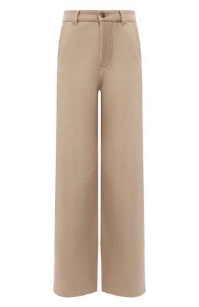 Женские брюки AMI бежевого цвета, арт. H19FT650.237 | Фото 1