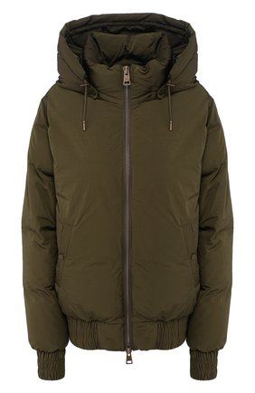 Женский пуховая куртка AMI зеленого цвета, арт. H190W200.232 | Фото 1