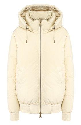 Женский пуховая куртка AMI бежевого цвета, арт. H190W200.232 | Фото 1