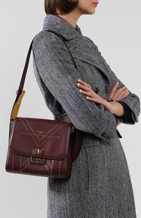 Женская сумка eden medium GIVENCHY фиолетового цвета, арт. BB50ARB0QK | Фото 2