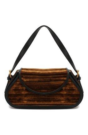 Женская сумка uma BY FAR коричневого цвета, арт. 19PFUMNABR4SMA   Фото 1