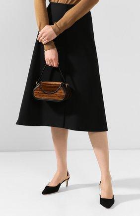 Женская сумка uma BY FAR коричневого цвета, арт. 19PFUMNABR4SMA   Фото 2
