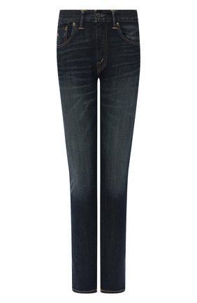 Женские джинсы RRL темно-синего цвета, арт. 282662844 | Фото 1