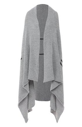 Женская накидка OFF-WHITE серого цвета, арт. 0WHN002F19B170510500 | Фото 1