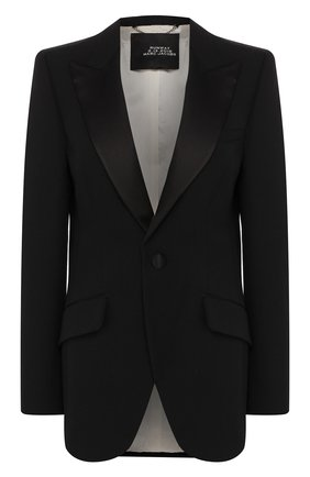 Женский шерстяной жакет MARC JACOBS RUNWAY черного цвета, арт. W2190195 | Фото 1