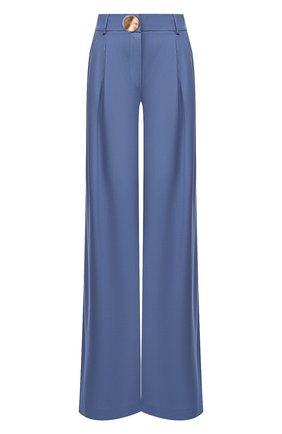 Женские шерстяные брюки REJINA PYO синего цвета, арт. E095/JAPANESE W00L   Фото 1