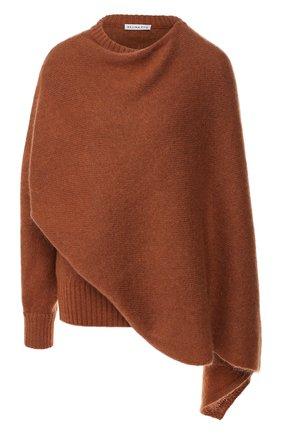 Женская свитер REJINA PYO коричневого цвета, арт. C237K/M0HAIR BLEND   Фото 1