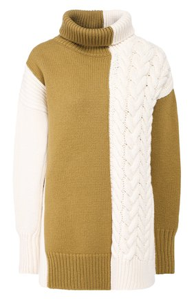Женская шерстяной свитер JOSEPH белого цвета, арт. JF003763 | Фото 1