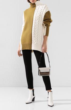 Женская шерстяной свитер JOSEPH белого цвета, арт. JF003763 | Фото 2