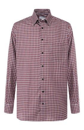 Мужская хлопковая рубашка ETON бордового цвета, арт. 1000 00325 | Фото 1