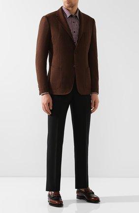 Мужская хлопковая рубашка ETON бордового цвета, арт. 1000 00325 | Фото 2